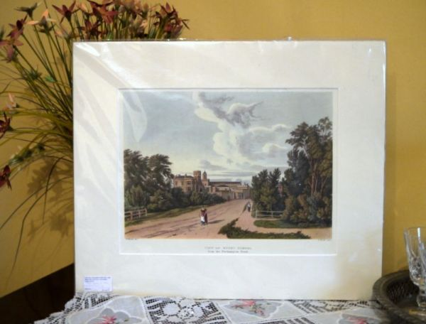 Rugby School - from the Northampton Road - Rug 8